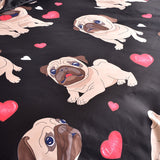 Ensemble de lit Pug