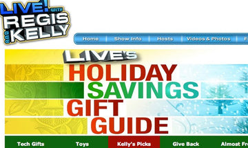 Live! with Regis and Kelly Holiday Gift Guide - Jao Hand Sanitizer