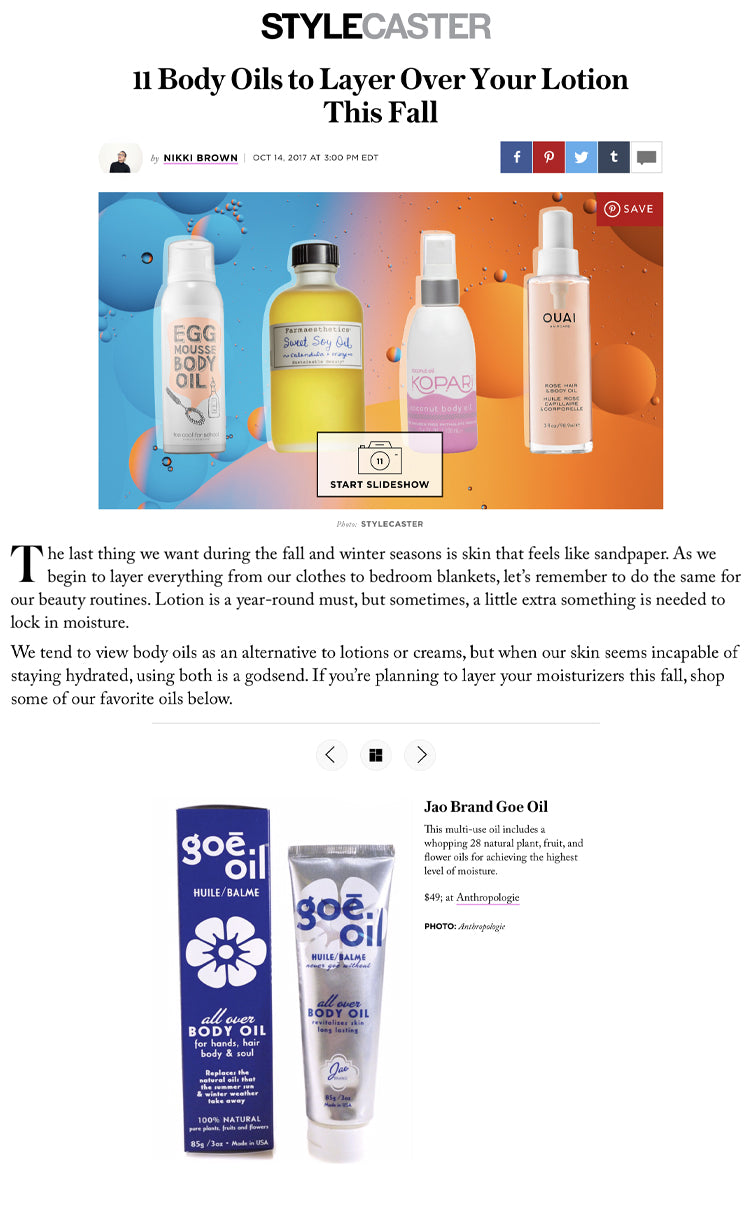 Body Oils to Layer Over Your Lotion