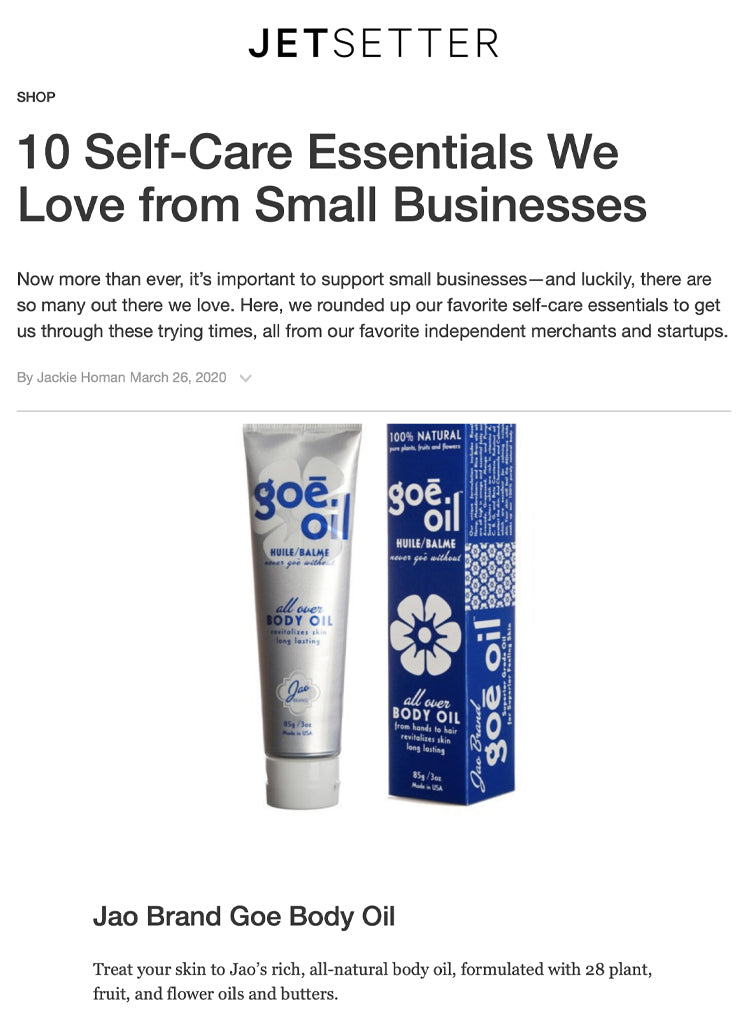 Self-Care Essentials We Love from Small Businesses