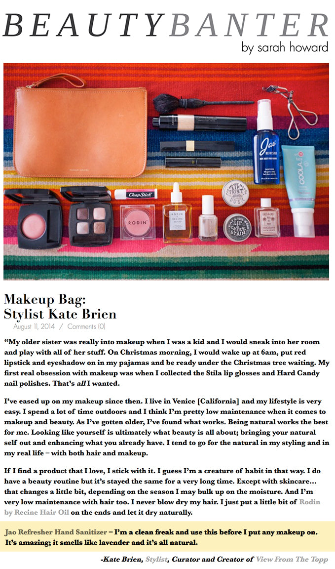 Stylist Kate Brien : Whats in my bag