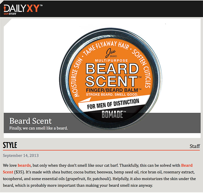 DailyXY Guy Stuff: BeardScent