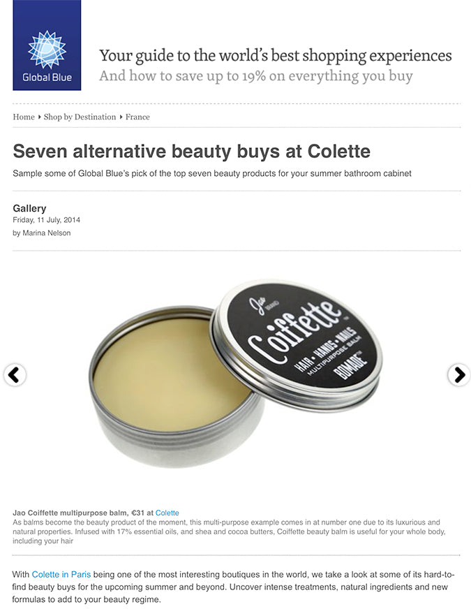 Global Blue: Alternative beauty buys at Colette