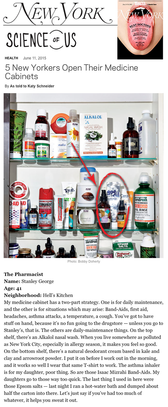New York Mag - Whats in Your Medicine Cabinet