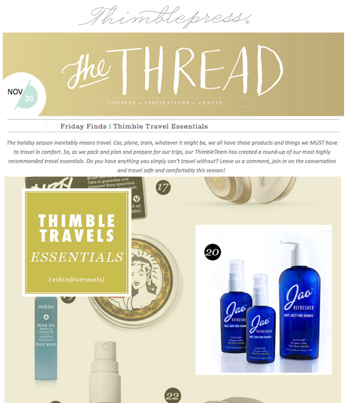 Thimble Travel Essentials