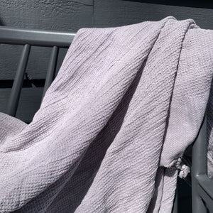 Jao Brand Body Hamam Turkish Towel Stonewashed Light Grey