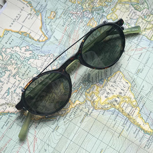 Jao Brand Stylish Readers - Green Tortoise