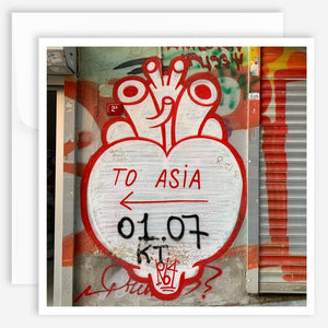 Note Card - Asia - Jao Brand