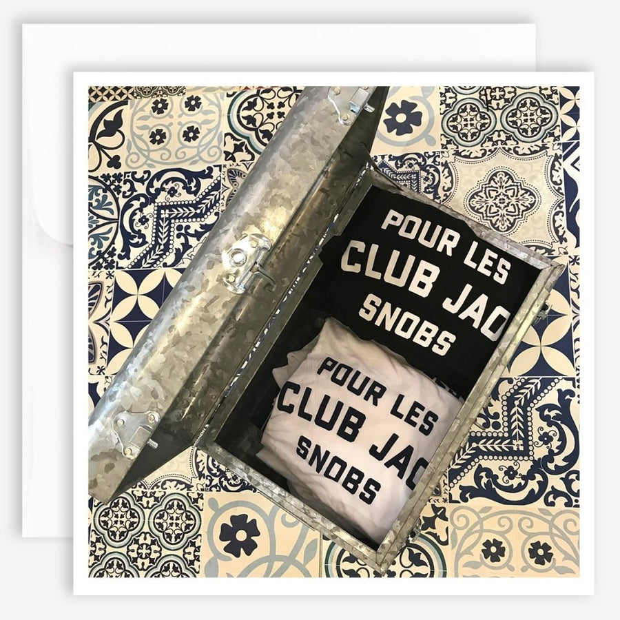 Note Card - Pour Les Snobs - Jao Brand