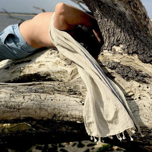 Turkish Beach/Bath Honeycombed Towel - Jao Brand