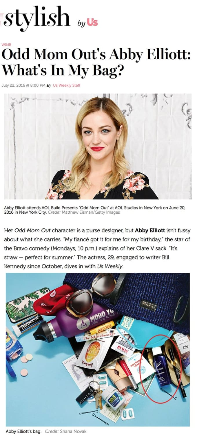 Stylish Abby Elliott Jao Refresher