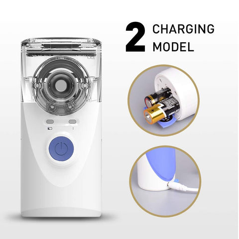 portable nebulizer charging