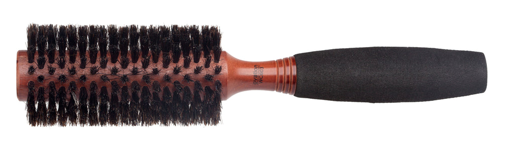 OVATION Natural Barrel Brush 2"