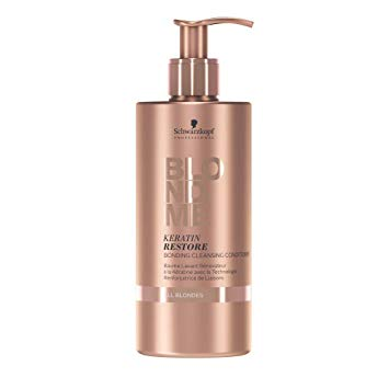 SCHWARZKOPF BLONDME Keratin Restore Cleansing Conditioner