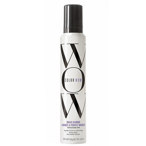 COLOR WOW Brass Banned Mousse Light Blonde