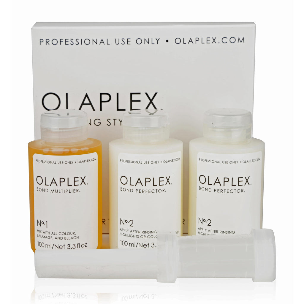 OLAPLEX HAIR TREATMENTS STYLIST KIT No1 Bond Multiplier No2 Bond Perfector Hair Mask Treatment Best product for Damaged Hair