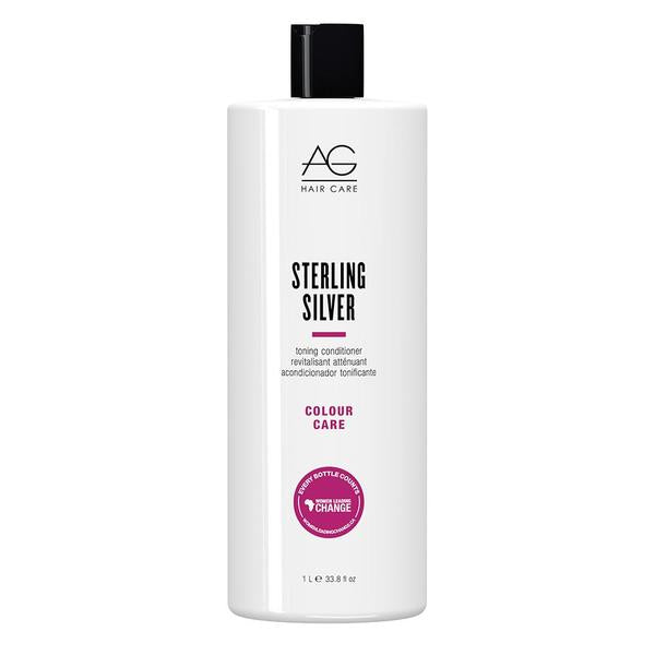 AG Hair Colour Savour Sterling Silver Conditioner 33.8oz