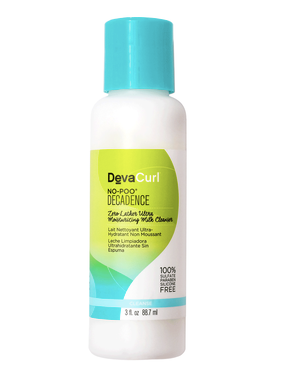 deva curl no-poo decadence curly hair product chufa milk