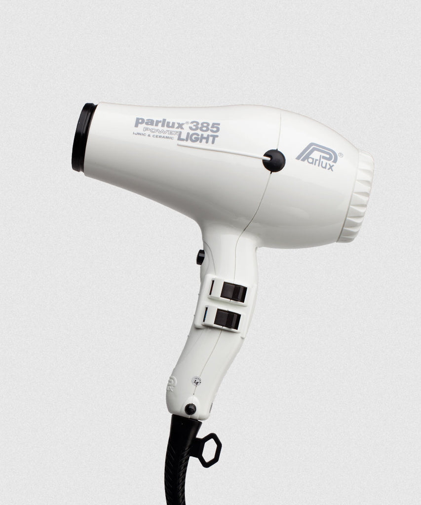 PARLUX 385 Powerlight Hairdryer White | EDRY385WH