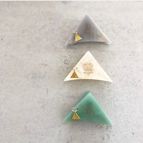 [ sAn × seisuke88] Triangle hair clip small