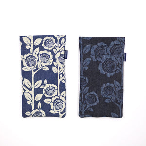 [Discharge Denim] Spring Pouch (Large)