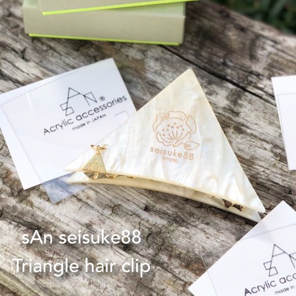 sAn × seisuke88 Triangle hair clip