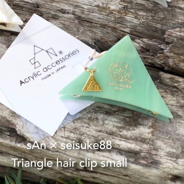 sAn × seisuke88 Triangle hair clip small