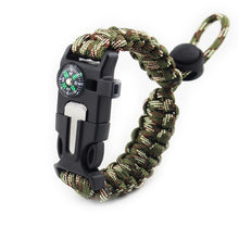 Load image into Gallery viewer, Multi-functional Survival Paracord Bracelet