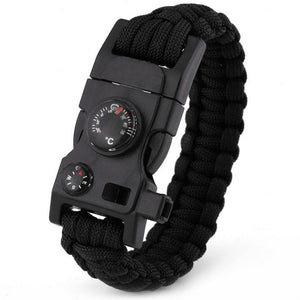 Multi-functional Survival Paracord Bracelet