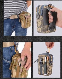 Tactical Military Phone Waist Pack