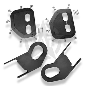 ECV HOOD HOOKS - COMPLETE KIT 2 INCH BODY LIFT