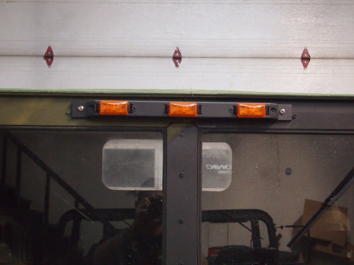 Humvee windshield tripod light kit!
