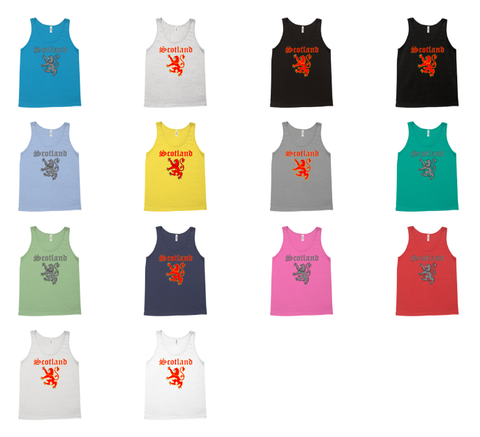 Mountain Thyme is now offering Premium Unisex Tank Tops in 3 designs, available in up to 14 colors!