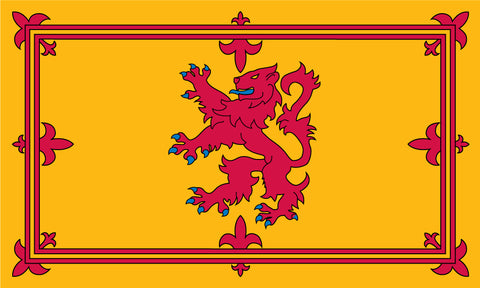 The Royal Banner of Scotland, with the Lion Rampant