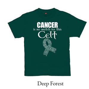 Cancer Warrior T-shirt - Mountain Thyme