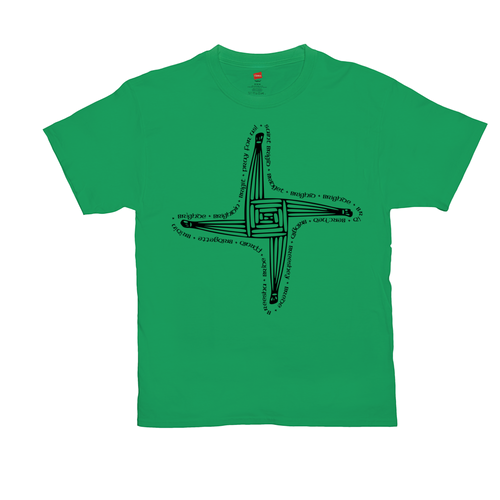 St. Brigid's Cross T-Shirt - Mountain Thyme