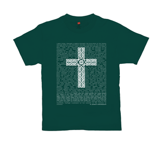 St. Patrick's Breastplate with Celtic Cross T-shirt - Mountain Thyme