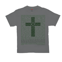 Load image into Gallery viewer, St. Patrick's Breastplate with Celtic Cross T-shirt - Mountain Thyme