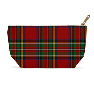 Royal Stewart Zippered Pouch - Mountain Thyme
