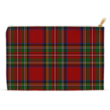 Load image into Gallery viewer, Royal Stewart Zippered Pouch - Mountain Thyme