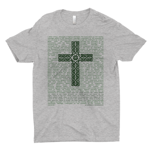 St. Patrick's Breastplate Premuim T-shirt - Mountain Thyme