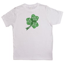 Load image into Gallery viewer, Celtic Shamrock Youth T-shirt - Mountain Thyme