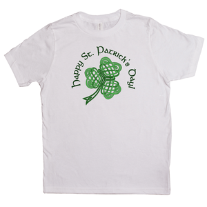 Happy St. Patrick's Day! Youth T-shirt - Mountain Thyme