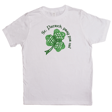 Load image into Gallery viewer, St. Patrick, Pray For Us! Youth T-shirt - Mountain Thyme