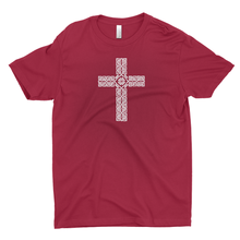 Load image into Gallery viewer, Celtic Cross (Small) Premium T-shirt - Mountain Thyme