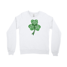 Load image into Gallery viewer, Celtic Shamrock Sweatshirt - Mountain Thyme