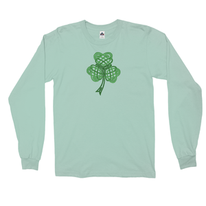 Celtic Shamrock Long Sleeve Shirt - Mountain Thyme