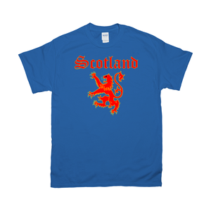 Scotland Lion Rampant T-shirt - Mountain Thyme