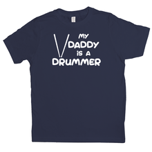 Load image into Gallery viewer, My Daddy is a Drummer Youth T-shirt - Mountain Thyme