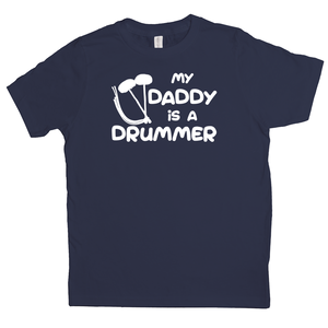 My Daddy is a Drummer (Tenor) Youth-T-shirt - Mountain Thyme